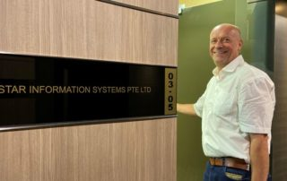 New STAR office in Singapore with Per Anders Koien