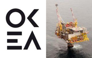 OKEA logo Draugen field