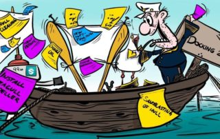 Projects & Docking, Cartoon, slide 2