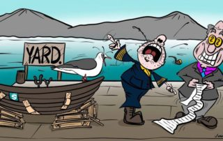 Projects & Docking, Cartoon, slide 3