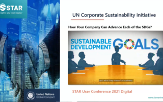 Sustainability reporting in the STAR Maritime EAM System. UN SDG.