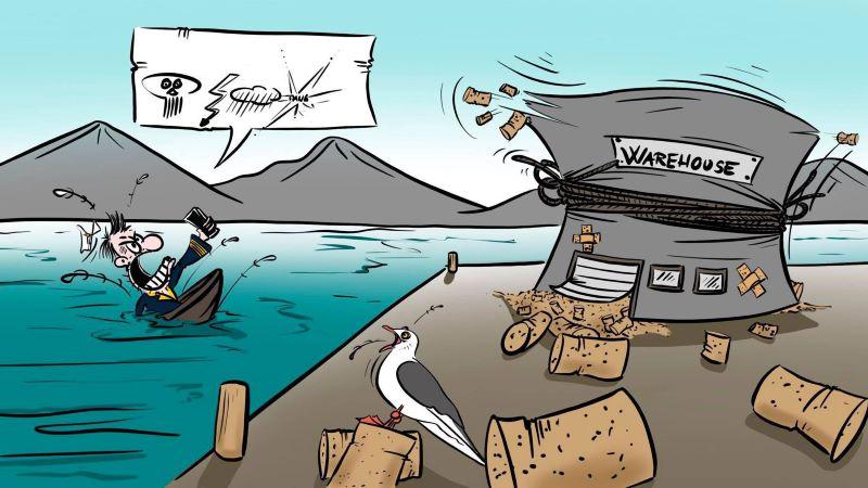 Smart warehousing, Cartoon, slde 4