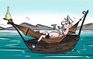 Supply & Logistics, Cartoon, slide 2